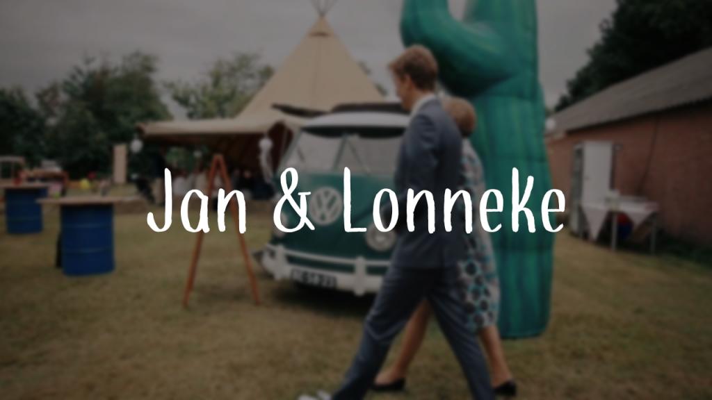 Jan & Lonneke 13-08-2016